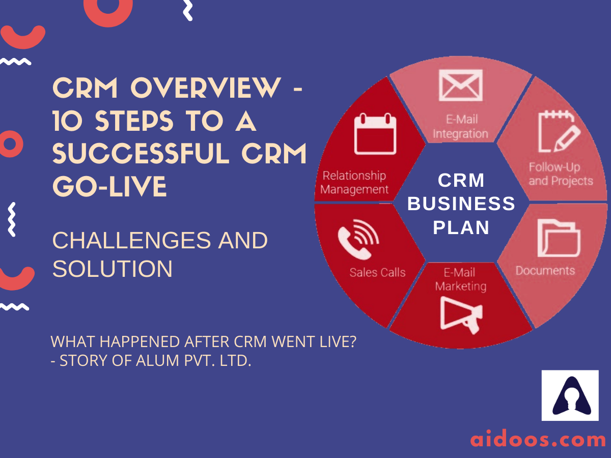 CRM Overview - 10 Steps to a Successful CRM Go-Live - Challenges & Solution